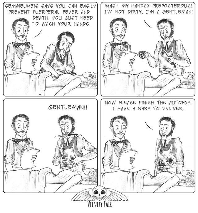 I Draw Comics About The Bizarre, Gruesome, And Often Deadly Side Of Victorian Life