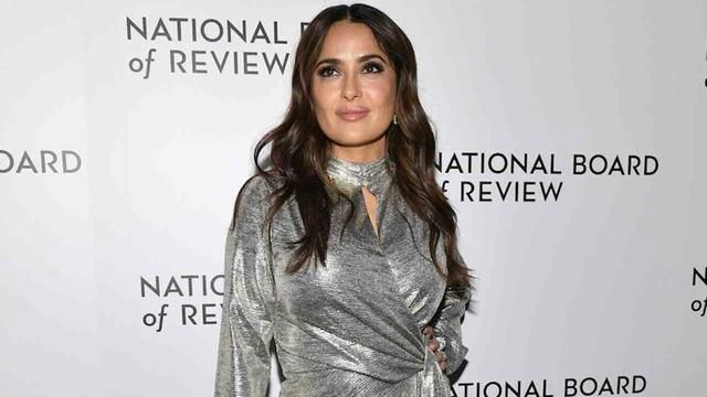 Actress Salma Hayek - who's from Mexico - bows to 'woke' fans after touting controversial novel about Mexican woman before she read it