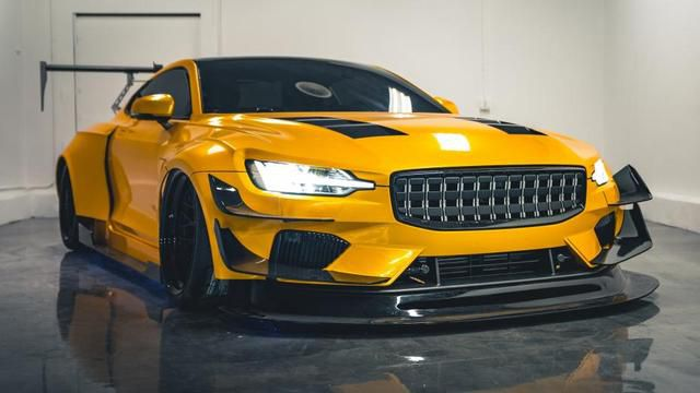 A closer look at the one-off Polestar built in 30 days