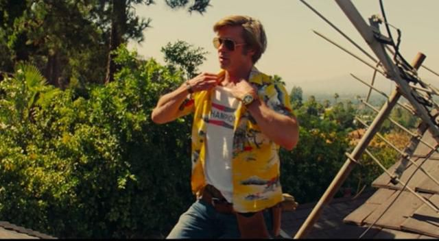 Brad Pitt Dunked On Quentin Tarantino For Trying To Tell Him How To Take His Shirt Off