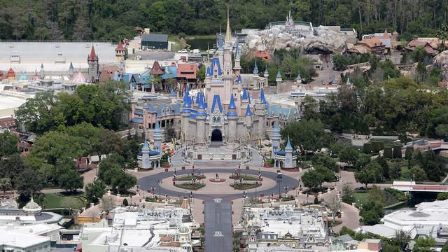 Striking Photos Show Empty Disney World As It Remains Closed During Coronavirus Pandemic