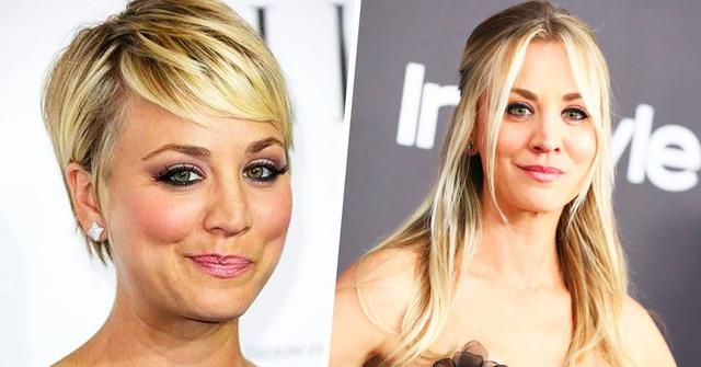 14 Throwback Pics Of Kaley Cuoco's Short Hair (That Make Us Glad She Grew It Back)