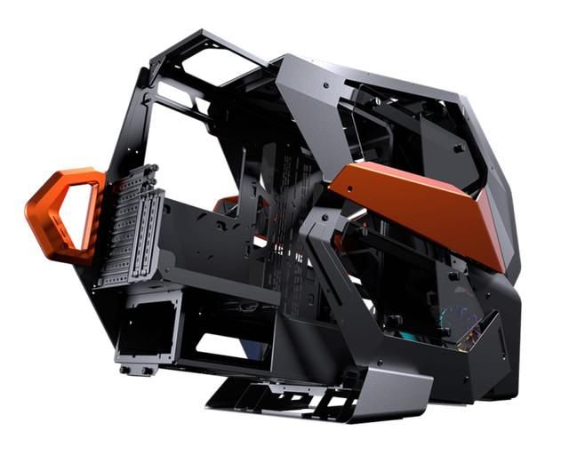 The Cougar Conquer 2 Chassis is Unique, Weird and Amazing Looking!