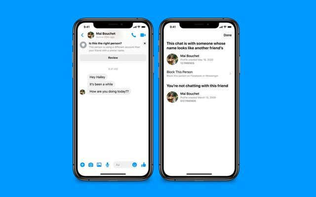 Facebook brings safety notices to avoid scams in Messenger