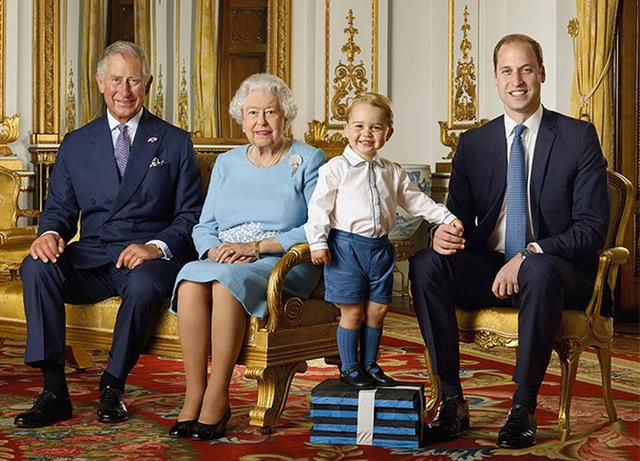 Prince George Looks So Grown Up in New Royal Family Portrait