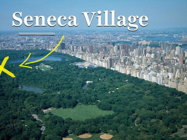 The lost neighborhood under New York's Central Park