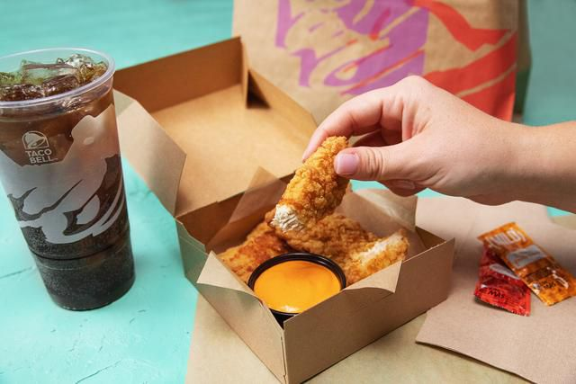 Taco Bell Joins the Fried Chicken Wars with Their New Crispy Tortilla Chicken
