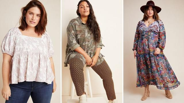 15 Cute Plus-Size Clothes Items On Sale At Anthropologie Right Now