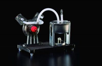 Working Mini V-Twin Steam Engine