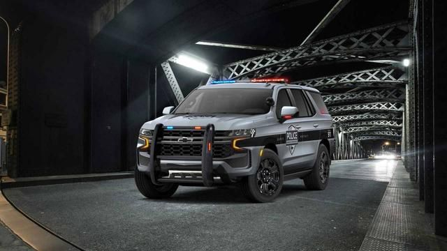 2021 Chevy Tahoe Police Pursuit Vehicle (PPV) is reporting for duty