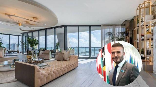 Inside David Beckham's new $24 million dollar apartment in Miami