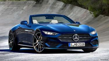 New 2021 Mercedes SL to be developed by AMG with 2+2 layout