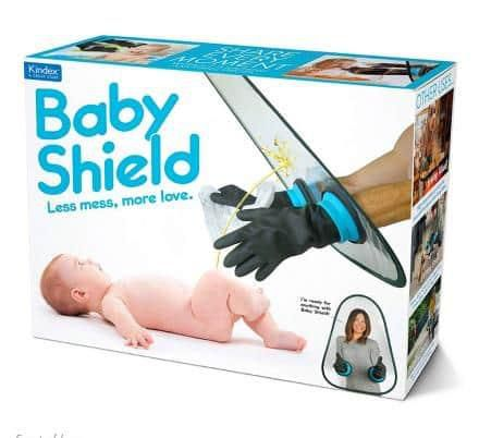 'Baby Shield' May Be The Best Baby Shower 'Gift' Ever