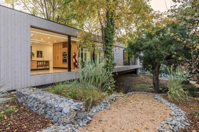He built his 20-foot-wide house over a secret brook in the middle of L.A.