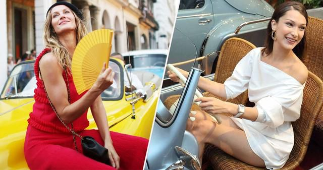 10 Supermodels Who Drive Bougie Cars (And 5 Who Prefer Beaters)