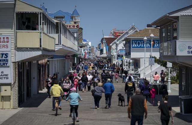 Atlantic beach towns brace for summer vacationers - but know it won't be the same