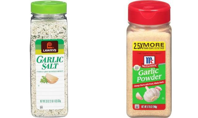What's the Difference Between Garlic Salt and Garlic Powder?