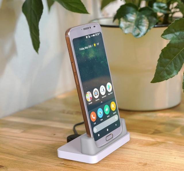 A new slick smartphone for seniors. Meet the Doro 8080