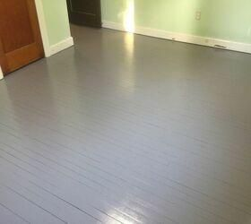 A Wood Floor Face Lift WITHOUT Sanding, Stripping, or Priming!