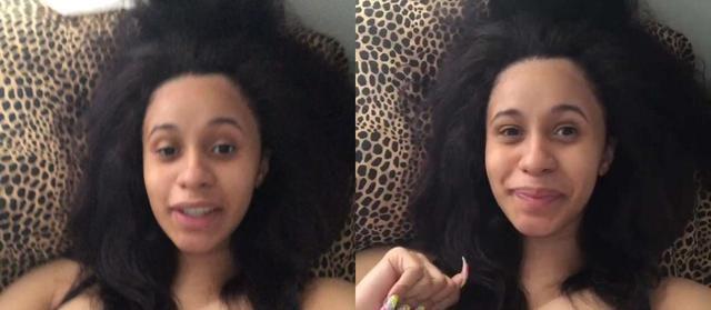 15 Pics Of Cardi B With No Makeup On