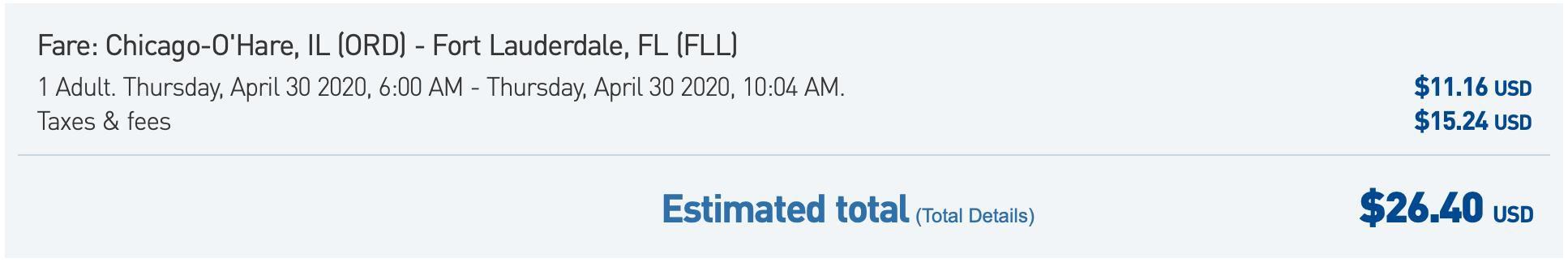 Deal alert: Flights to Florida starting at $26 one-way