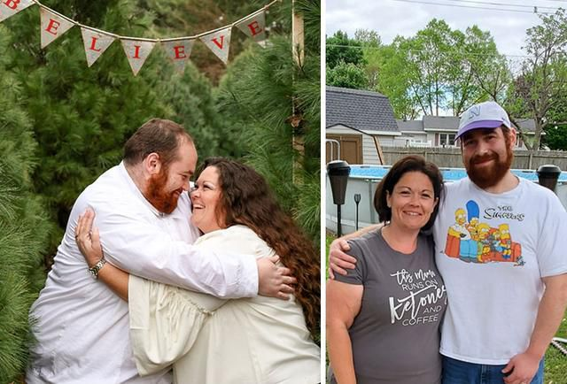 Couple Shares Before-And-After Photos Of Their Amazing Weight Transformation Interview