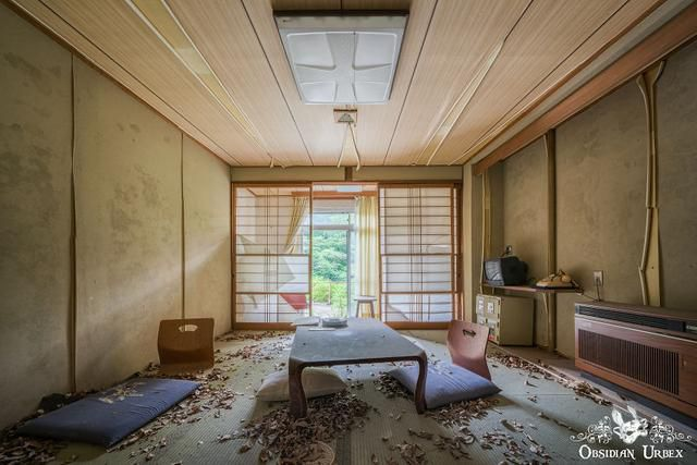 I Explored An Abandoned Spa Hotel In Japan