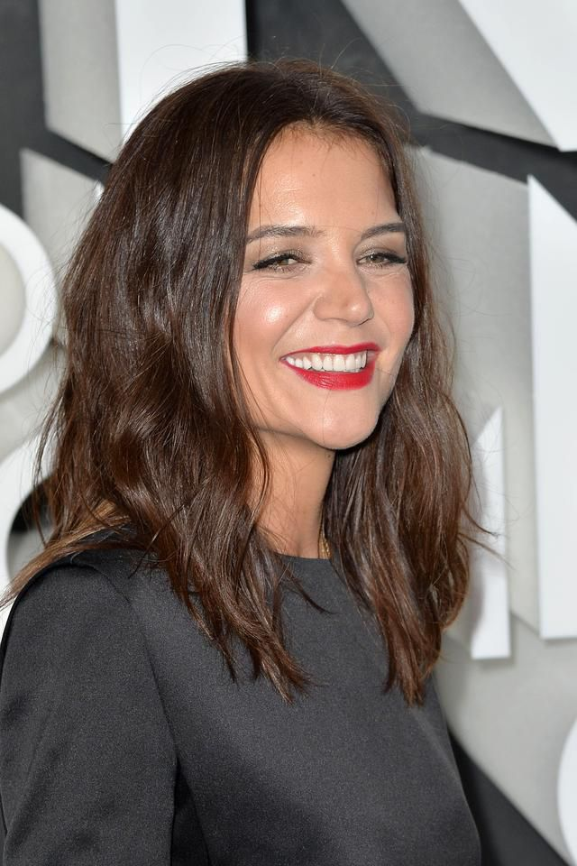 If Looks Could Kill! Katie Holmes Wows in Little Black Dress for NYC Red Carpet Event