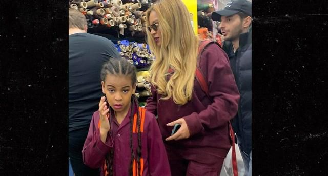 Beyoncé Is Turning Blue Ivy Into An Adidas Model And She Hangs Out With Kim Kardashian-West's Son, Saint