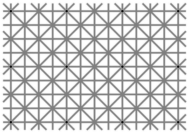 Optical Illusion: You Can See All the Dots in This Image, But Not All at Once