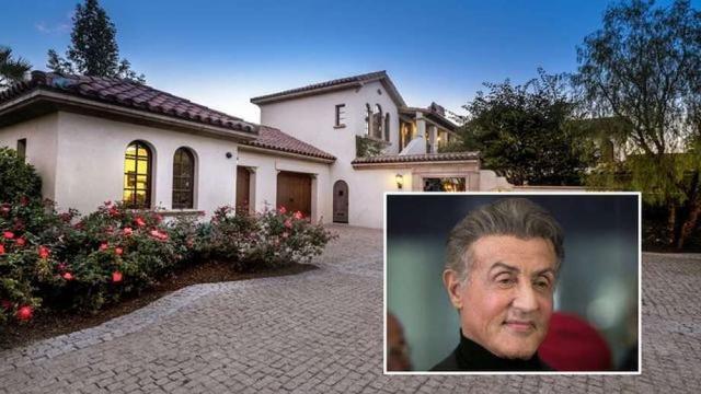 Sylvester Stallone's La Quinta Villa Lands on the Market for $3.35M