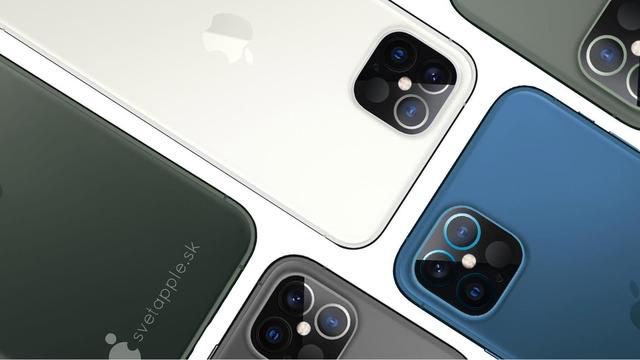iPhone 12 concept shows camera bump with LiDAR scanner