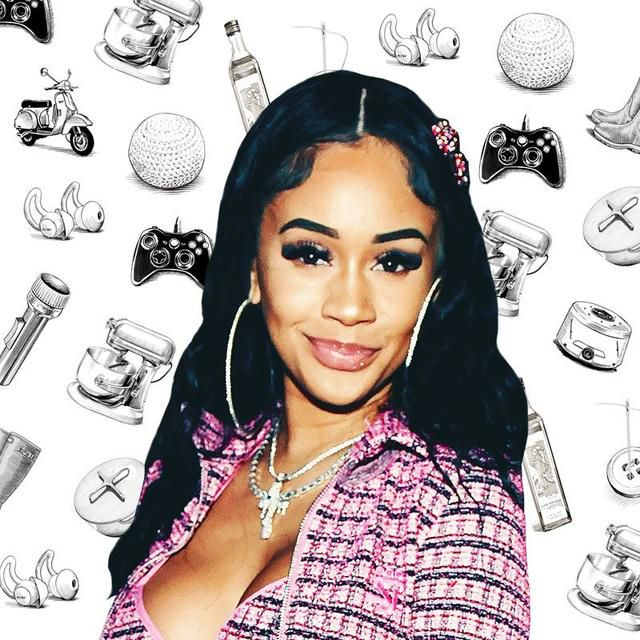 What Rapper Saweetie Can't Live Without