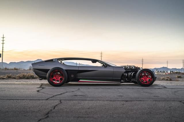 The Famous Custom Lamborghini Rat Rod is Being Auctioned