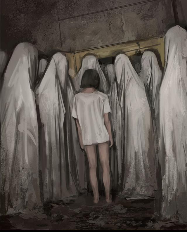 This Artist Creates Disturbing Artwork That Resembles Horror Movies