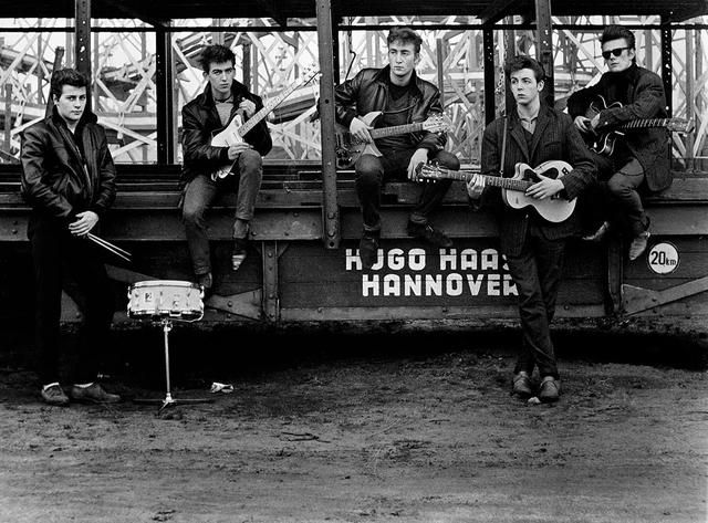 Photographing The Beatles: When Astrid Kirchherr Styled The Group In Pictures and Moptops