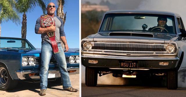 These 15 Photos Of Bill Goldberg's Muscle Cars Make Any Gearhead Jealous