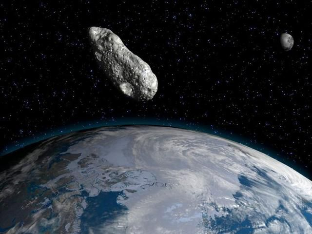 NASA's Scientists Issued Red Alert Over A Asteroid Of Size More Than The Great Pyramid Of Giza Predicted To Pass By Earth Tonight