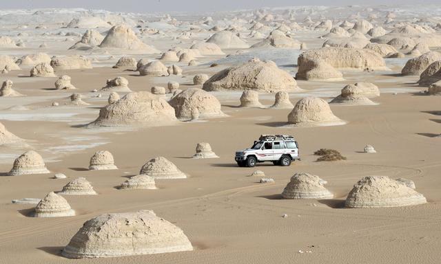 Egypt's White Desert: The alien landscape beyond the Pyramids