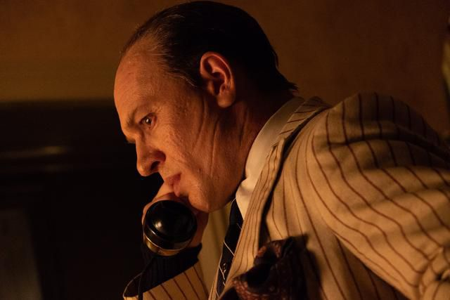 Review: Tom Hardy shines as the feral remnant of an infamous gangster in the wild new 'Capone'