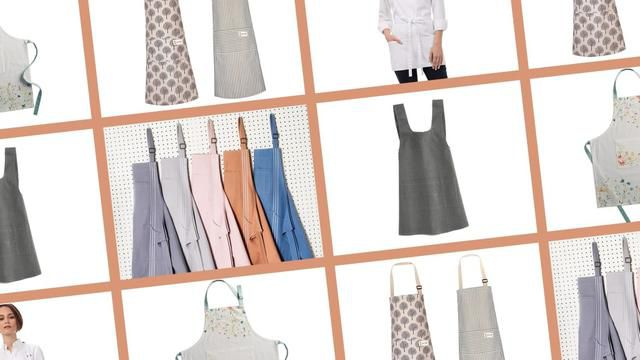 Spend More Time Cooking, Stain Free, With These Aprons