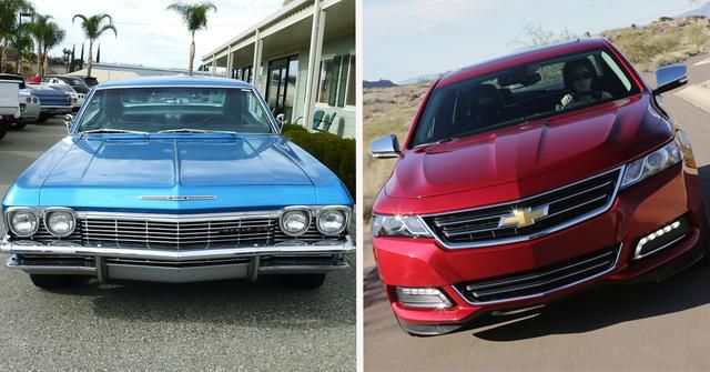 15 Photos Of How The Chevy Impala Has Changed Over The Years