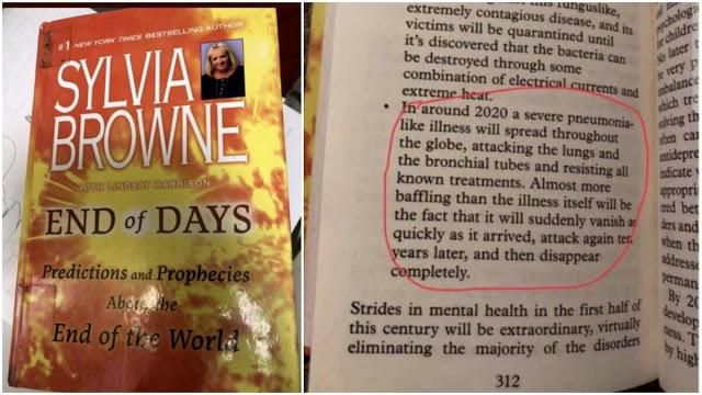 End of Days: Psychic Sylvia Browne's Book Possibly Predicted 2020 Coronavirus Outbreak 12 Years Ago