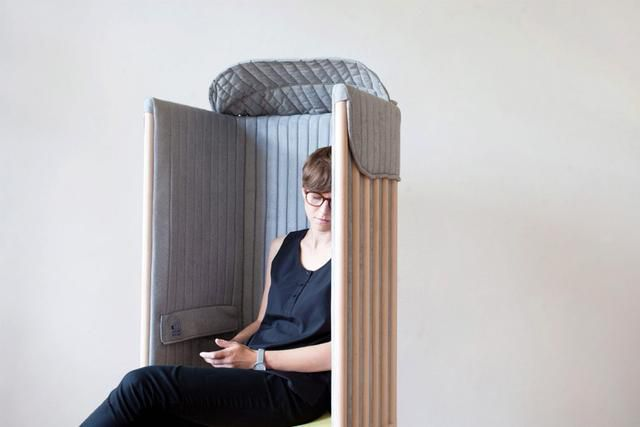 Goodbye screen time, hello me time with this mobile signal blocking chair!