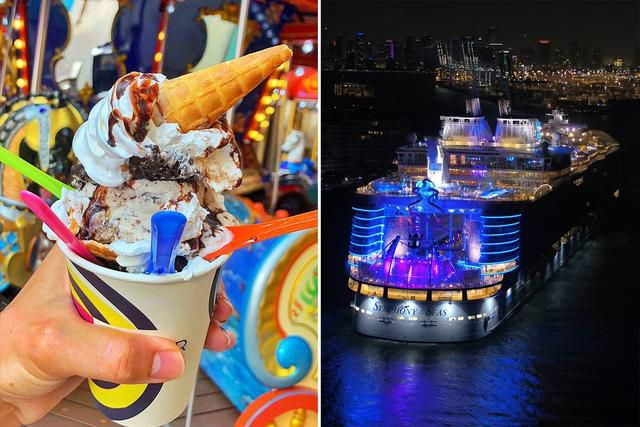 How to Eat Your Way Across the World's Largest Cruise Ship