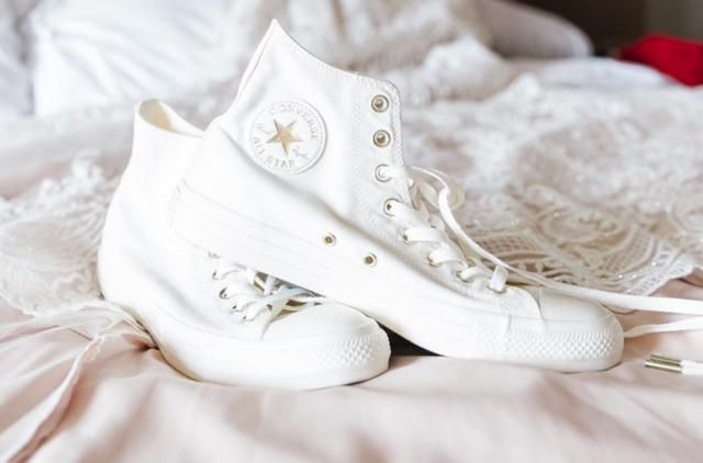 Converse Has Released Their Own Wedding Line
