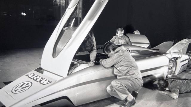 The most aerodynamic Volkswagen ever built was designed in the '80s