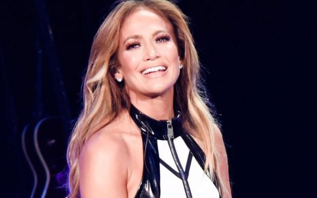 J-Lo Performs in Fierce Thigh-Highs With Her Name on Them iHeartRadio Fiesta Latina