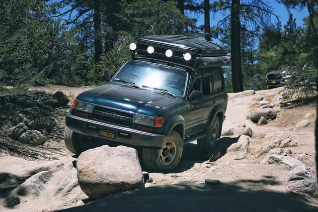 White Knuckle Rock Sliders and LightForce Driving Lights Let You Overland Deeper and with More Confidence