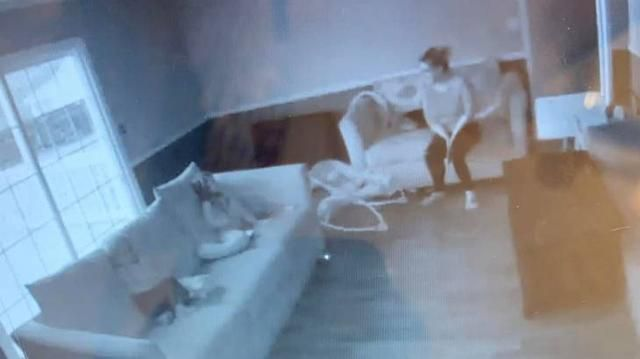 Mom Spots 'Ghost' Lady Watching Her Kids on Baby Cam & It Is Seriously Spooky